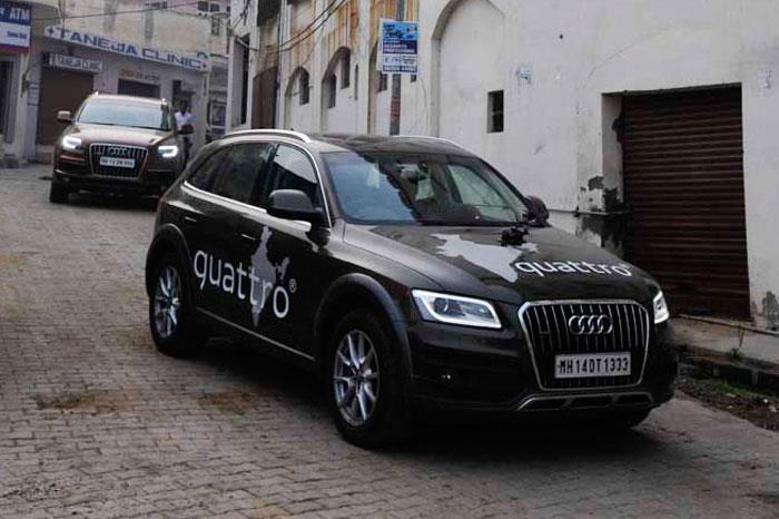 Audi Great India quattro Drive 3 : Day 8 : Manali to Jispa