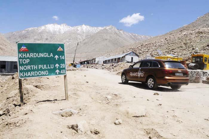 Audi Great India quattro Drive 3 : Day 10 – Sarchu to Leh