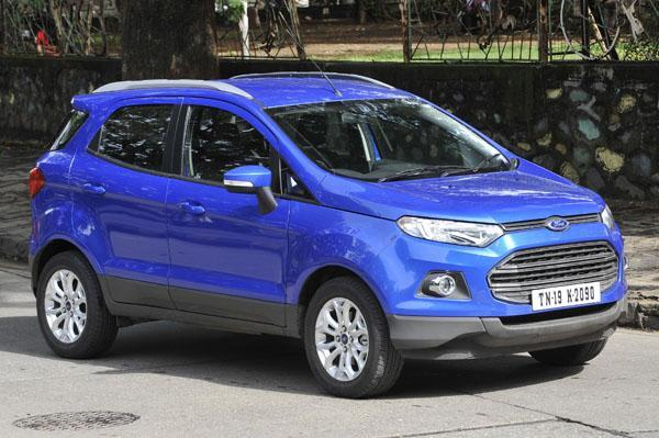 Ford EcoSport bookings paused