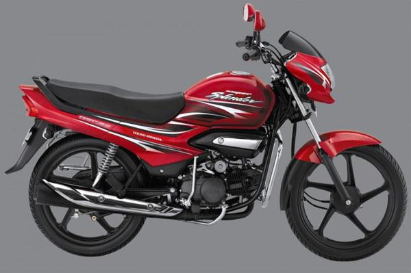 Hero Super Splendor used for representational purposes