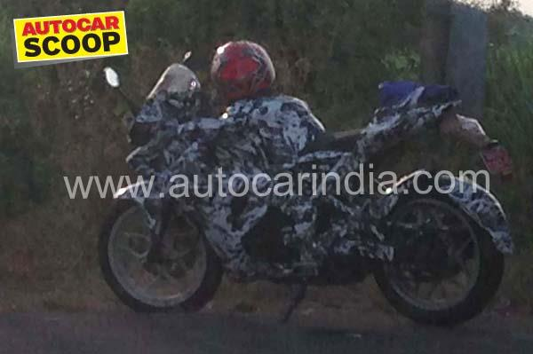 SCOOP! All new Bajaj Pulsar 200 spied