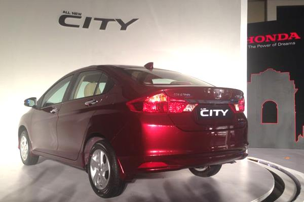 New Honda City Rear