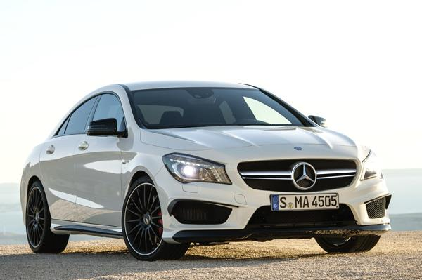 Mercedes CLA 45 AMG to be shown at Auto Expo 2014