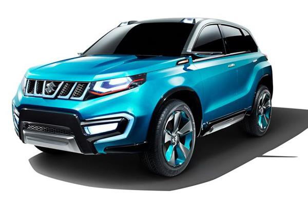 The Suzuki iV-4 SUV concept will be shown at the Auto Expo.