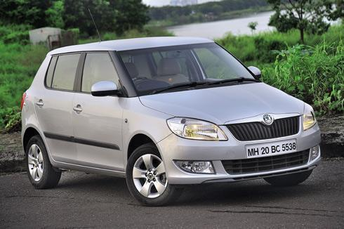 Current generation Fabia pictured.
