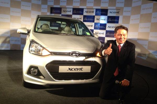 Auto Expo 2014: Hyundai Xcent is the Grand i10 sedan