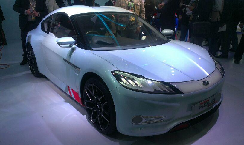 Auto Expo 2014: Mahindra Halo electric sportscar revealed
