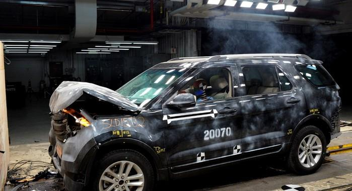 Ford to up investment in crash testing