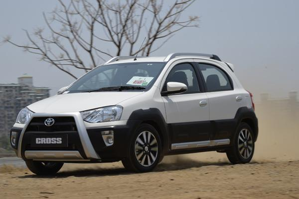 Toyota Etios Cross review, test drive