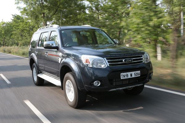 2014 Ford Endeavour facelift review test drive