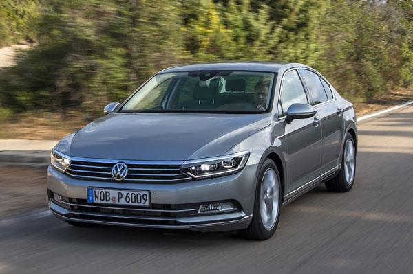 New Volkswagen Passat review, test drive