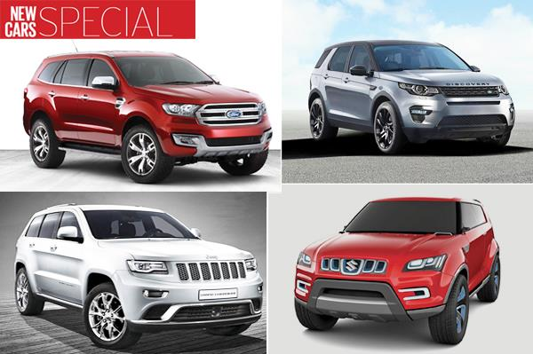 New cars for 2015: SUVs and MPVs