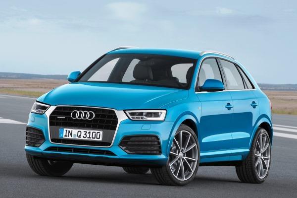 Audi Q3 facelift revealed