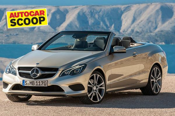 SCOOP! Mercedes E 400 Cabriolet coming 2015