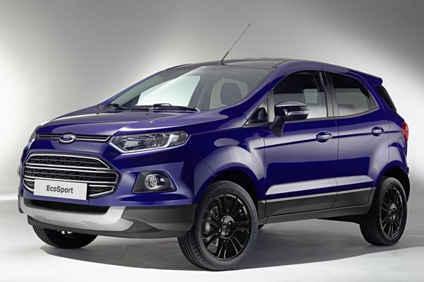Updated Ford EcoSport showcased at Geneva