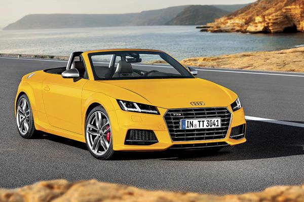 2015 Audi TT S roadster review, test drive