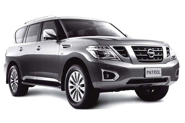 Nissan Patrol SUV India-bound
