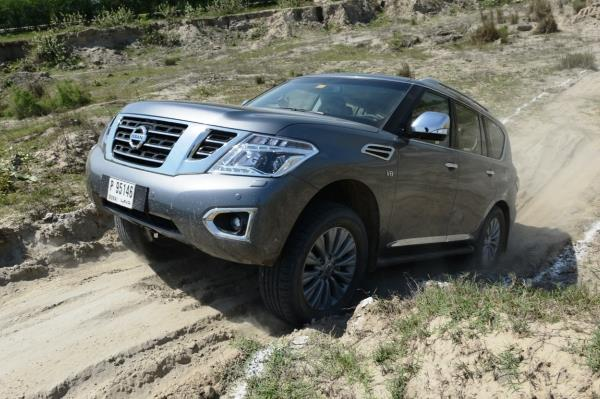 Nissan Patrol review, test drive