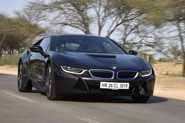 BMW i8 India review, test drive