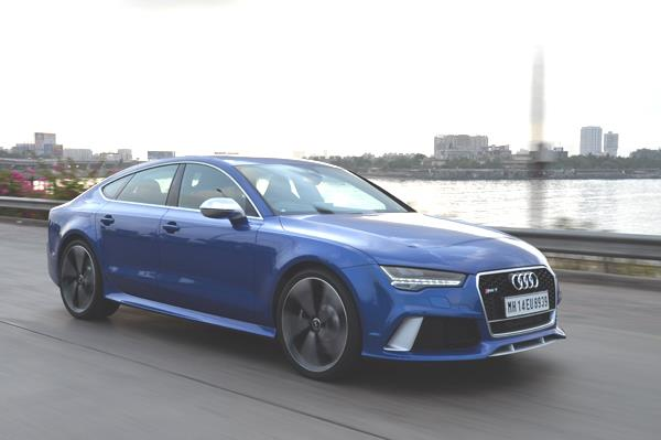 Audi RS7 Sportback facelift review, test drive