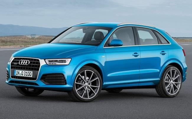 Audi Q3 facelift India launch on June 18, 2015
