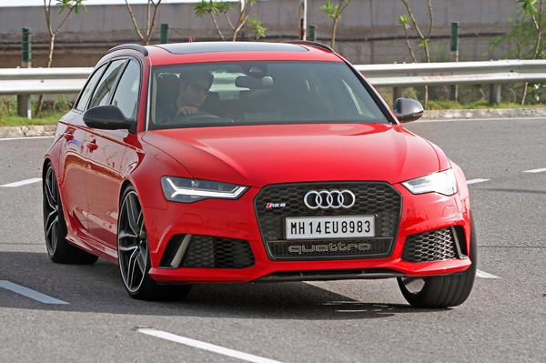 Audi RS6 review, test drive