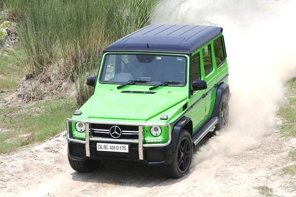 2015 Mercedes-AMG G63 review, test drive
