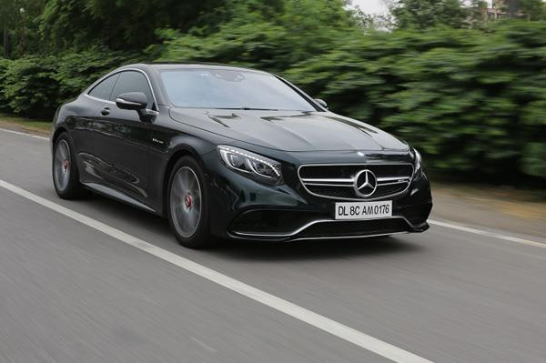 Mercedes-AMG S 63 Coupe review, test drive