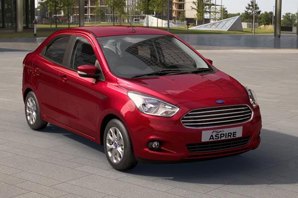 Ford Figo Aspire launched at Rs 4.89 lakh