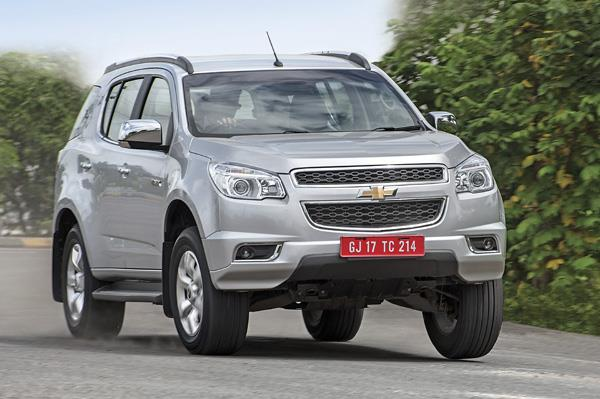 Chevrolet Trailblazer review, test drive