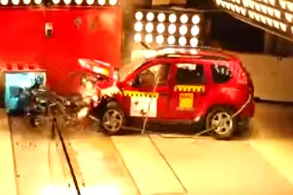 Renault Duster scores 4 stars in Latin NCAP crash tests
