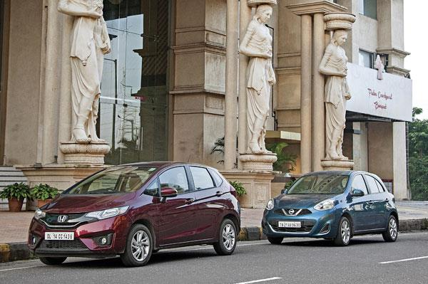 Honda Jazz CVT vs Nissan Micra CVT comparison