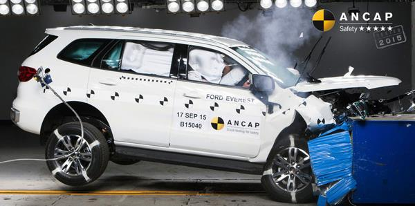 New Ford Endeavour gets top ANCAP crash test ratings
