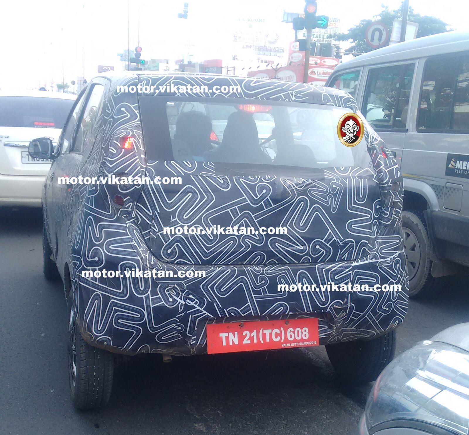 Datsun Redigo production version spied