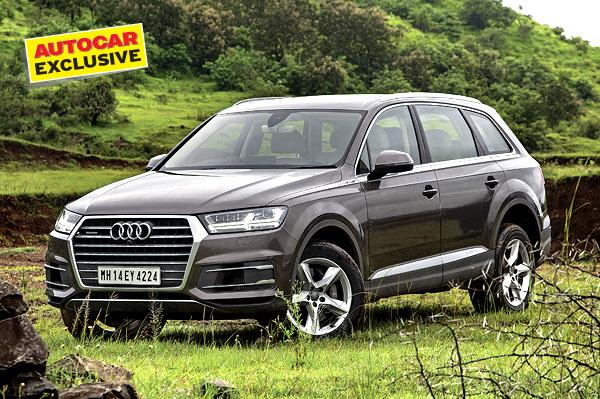 New Audi Q7 India review, test drive