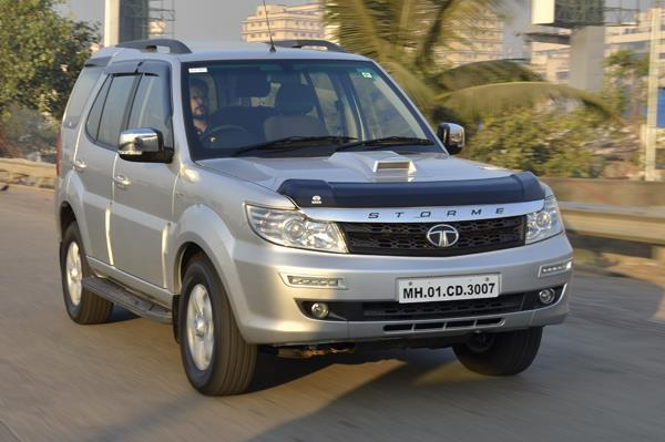 Tata Safari Storme Varicor 400 review, test drive