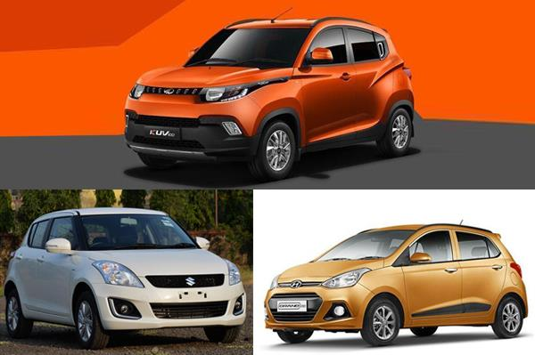 Mahindra KUV100 vs Maruti Swift vs Hyundai Grand i10: Specification comparison