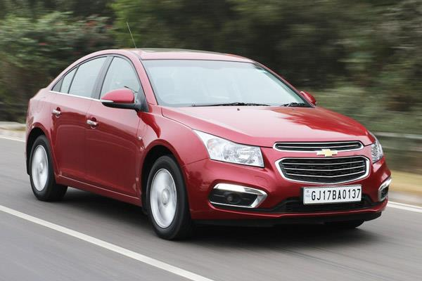 Chevrolet Cruze facelift review, test drive