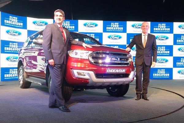 New Ford Endeavour launched at Rs 24.75 lakh