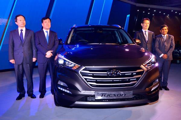 Hyundai Tucson, HND-14 compact SUV, Genesis brand showcased at Auto Expo 2016