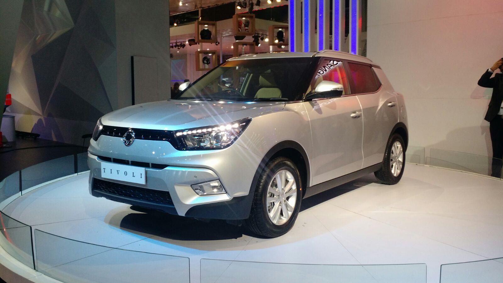 SsangYong Tivoli makes its debut at Auto Expo 2016