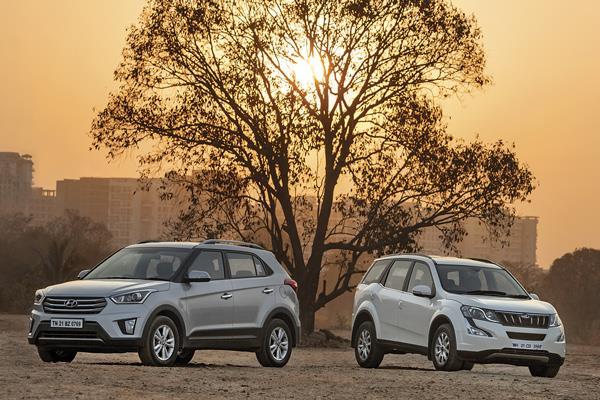 Mahindra XUV500 AT vs Hyundai Creta AT comparison