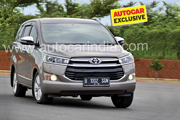 Toyota Innova Crysta review, test drive