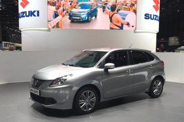 Made-in-India Baleno showcased at Geneva