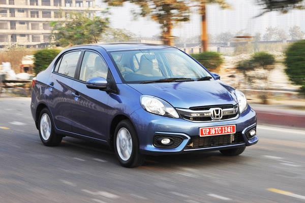 Honda Amaze facelift review, test drive