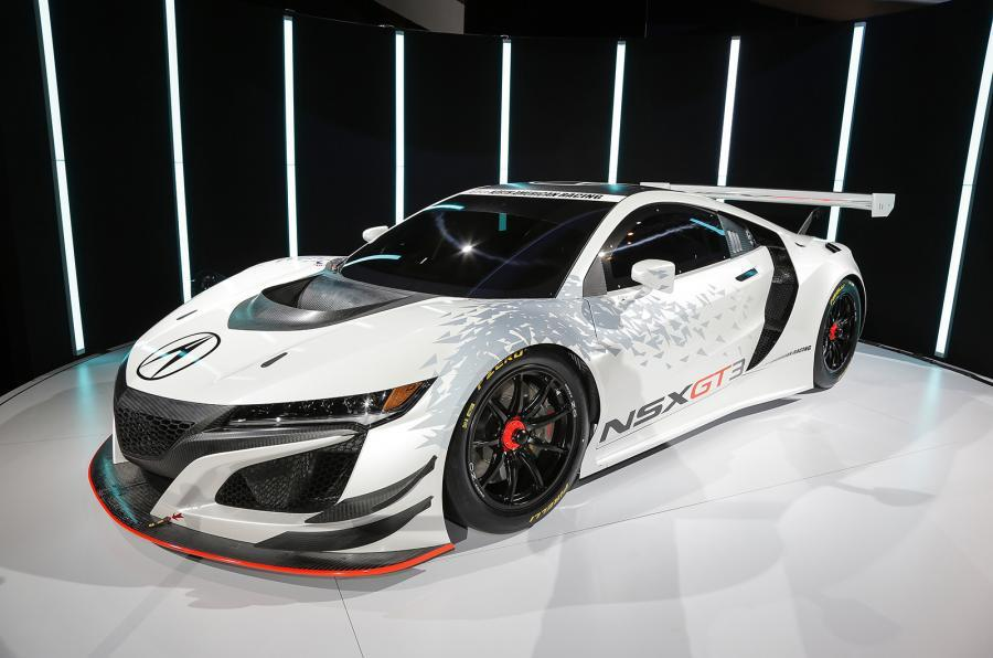 Honda NSX GT3 race car revealed