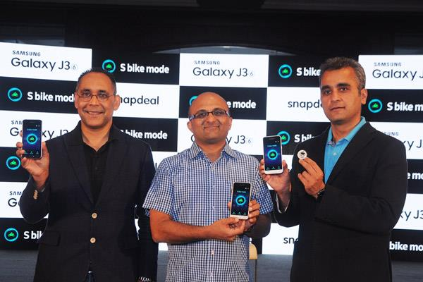 Samsung launches Galaxy J3 smartphone for Indian bikers