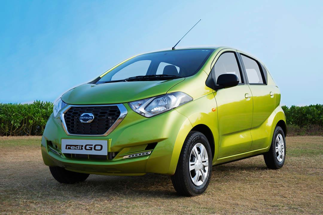 Datsun Redigo hatchback revealed
