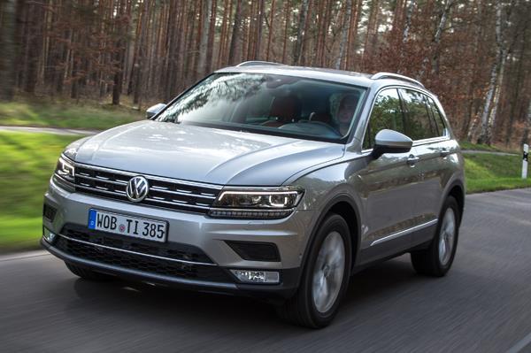 Volkswagen Tiguan review, test drive