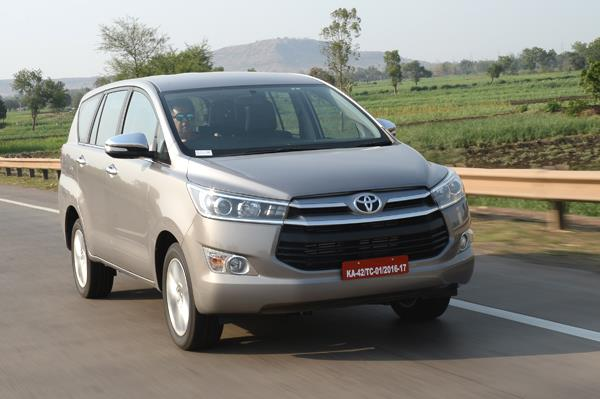 Toyota Innova Crysta India review, test drive